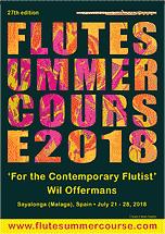 Flute Summer Course with Wil Offermans